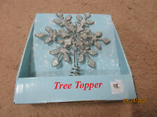 """Holiday: Unbranded:Tree Topper: Snowflake: 8.25"""""""