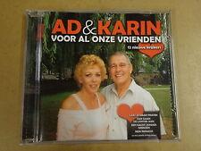 CD / AD & KARIN - VOOR AL ONZE VRIENDEN