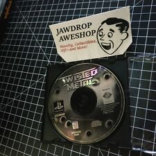 TWISTED METAL 1 -PS1 -DISC ONLY- USED, TESTED, WORKING. WEAR. PLAYSTATION 1 GAME