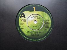 RINGO STARR APPLE DEMO 45 ' IT DON'T COME EASY ' 1st SINGLE 1971