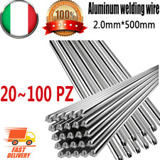 20 PZ Alluminio a bassa temperatura Filo per saldatura animato 2 mm *500 mm M7G8