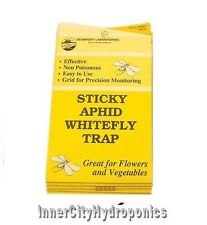 STICKY FLY TRAP 5 PACK WHITE FLY APHIDS FLIES