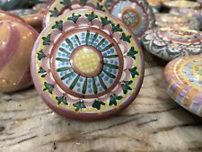 New Listing1 Mackenzie-Childs Pottery Drawer Pulls/Knobs Majolica. Retired.