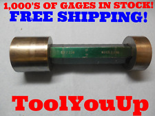 2.229 & 2.230 CLASS XX SMOOTH PIN PLUG GAGE 2.25 UNDERSIZE 2 1/4 INSPECTION TOOL