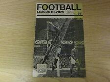 February 1967, FOOTBALL LEAGUE REVIEW, Gordon West, Hull City FC, Leo Callaghan.