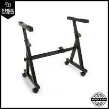 Plixio Piano Keyboard Stand Z Style Fully Adjustable And Portable Music Stand