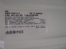 1 Compartment Refrigerator AEG Santo 2332-4e Type 71 dba01aa