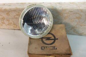 "NOS OEM HELLA OPEL MANTA series A 1970-88 5 1/2"" Headlamp Headlight # 17-08-166"