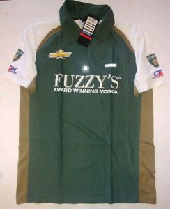Ed Carpenter Racing CFH Fuzzy's Vodka Mens Podium Polo New Small