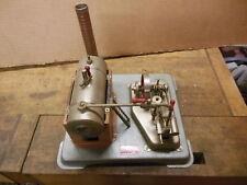vintage JENSEN Mfg Co #75 steam engine working old toy