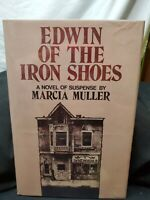 Edwin of the Iron Shoes book Marcia Muller SIGNED/INSCRIBED H/B D/J 1977 Great
