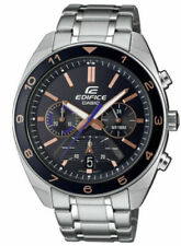 Casio EFV-590D-1AV, Edifice Stainless Steel Chronograph Watch, 100 Meter WR,Date