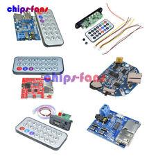 MP3 Decoder Board TF/USB/ Reader IR Remote Bluetooth/FM Car Audio Board Module