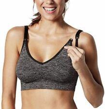 Bravado Designs Body Silk Yoga Seamless nursing Style 1436 small Charcoal  new