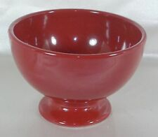 Home - American Simplicity - SANGRIA Red Coupe Footed Soup GUSTO Bowl 2007-2011