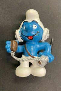 Smurfs CB Operator Smurf 20143 Toy Figurine