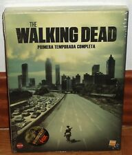 THE WALKING DEAD 1ª TEMPORADA ED.ESPECIAL 3 DVD+LIBRO COMIC NUEVO (SIN ABRIR) R2