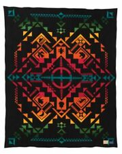 "Pendleton Shared Spirits Legendary Collection Wool Blanket Queen 64x80"" Charity!"
