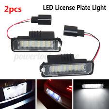 2x LED Number License Plate Light Lamp For VW GOLF MK4 MK5 Polo Canbus w ︿