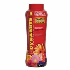 Dynamite Fertilizer Flowers and Vegetables 13-13-13 Feed Up to 9 Months. - 1 Lb.