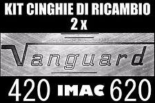 ★KIT CINGHIE DI RICAMBIO MOTORE- BRACCIO 2 x PROIETTORE IMAC VANGUARD 420 / 620★