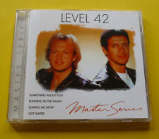 "CD "" LEVEL 42 - MASTER SERIES "" BEST OF / 16 HITS (RUNNING IN THE FAMILY)"
