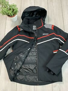 NEVICA RECCO Mens Ski Snowboarding Waterproof Jacket   Small S   38   Black