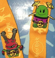 Hard Rock Cafe Japan 2013 Bots 2 Pins on Lanyard Brand New in Packaging!