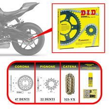 KIT TRASMISSIONE (Transmission Kit) DID - APRILIA SRV 850 ABS / ATC (2012)
