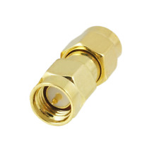 SMA Male to SMA Male Plug in series RF Coaxial Adapter Connector. 037