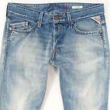 massicce RIDUZIONI REPLAY Moresk rpjn 001 regolari jeans slim fit nero