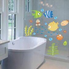 Ocean Fish Wall Decoration Sticker Bedroom Wall Bathroom Removable Vinyl Sticker