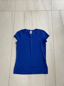 Ladies Adidas Essentials Perfomance T Shirt UK S (8-10)