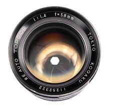 Topcon Black RE 58mm f1.4  #11252322