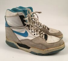 Nike Air Delta Force Basketball Shoes Vintage Leather Mens Size 9 BLUE 891101-PA