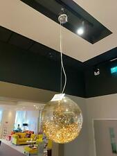 Amber Flare Single Pendant LED Ceiling Light Large