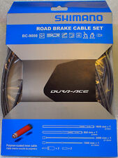 Shimano Dura Ace BC-9000 Road Polymer Brake Cable Set w/ FREE End Cap x2, Gray