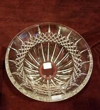 """Waterford Crystal 10"""" Console Bowl with Box VG"""