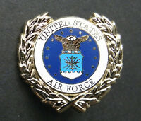 USAF US Air Force Wreath USA Lapel Pin Badge 1 inch