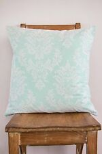 Cushion Cover Mint & Lace - Wedding Baby Kids Child Bedroom Nursery Decor