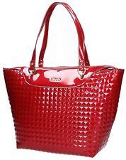 BORSA LIU JO SHOPPING CICLAMINO PATENT A17130 VERNICE BAG DA SPALLA ROSSO RED