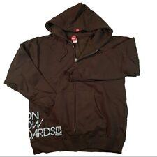 Burton Men's Sidewall Full Zip Hoodie Medium Brown - New with Tags!