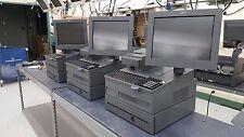 """4800-743 Integrated POS Lane - 15"""" IR Touch, 4610-TG4 Printer, FC3120 Keyboard"""