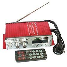 Amplificatore Per Auto E Moto Barca Usb Sd Mmc Card 2 Canali Kinter Ma-120 hsb