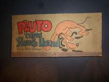Pluto Turns Sleuth Hound 1947 Walt Disney Cheerios Promotional Comic nice cond