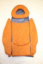 SMART FORTWO 450 Coprisedile rifiutare imbottitura sedile Passion Arancione Blu #58