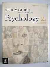STUDY GUIDE TO ACCOMPANY PSYCHOLOGY 2ND AUSTRALIAN & NEW ZEALAND EDITION.