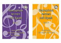"""Saxophon lernen mit Spaß - mit CD - für Altsaxophon +  1 Bleistift """"Musikmotiv"""""""
