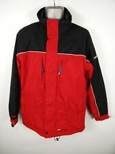 MENS DARE 2 BE RED/BLACK ZIP UP PADDED WATERPROOF SNOWSPORTS COAT JACKET S SMALL