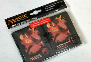 Ultra Pro 80 Deck Protector Magic the Gathering CHANDRA CARD SLEEVES mtg